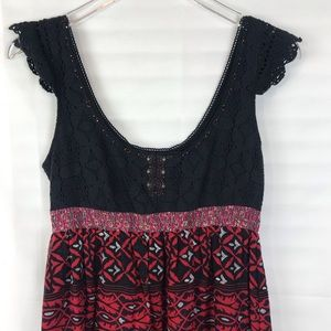 Free People Dress Nice details Sleeveless Size 8